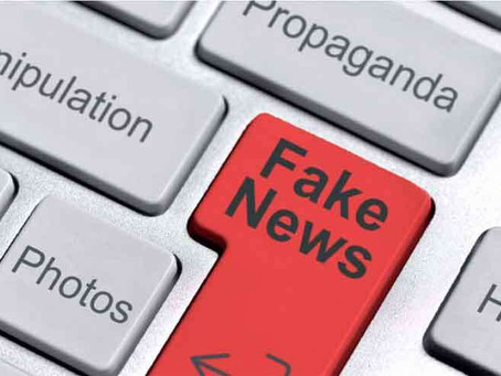 Estamos entretidos com factoides e fake news