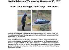Gwinnett County Police Media Release