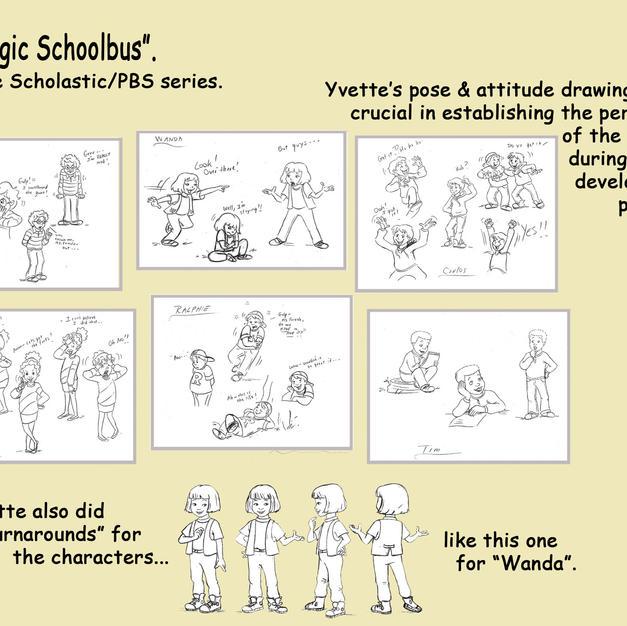 Magic Schoolbus Characters