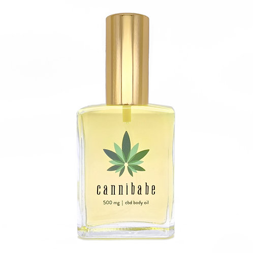 CBD Body Oil - 500mg