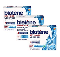 Biotene Dry Mouth Lozenges, Refreshing M