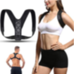 Shoulder Straightener - Spinal Reserving Orthopedic Spine Antenna - Full Back Support Posture Corrector for Men and Women - Suitable for relieving back, chest, neck and shoulder pain