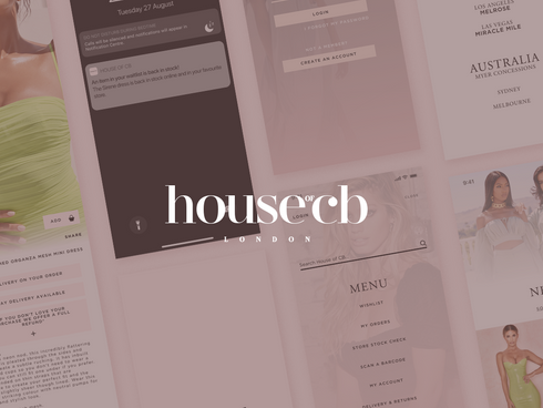 House of CB UX/UI