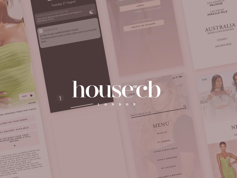 House of CB UX/UI