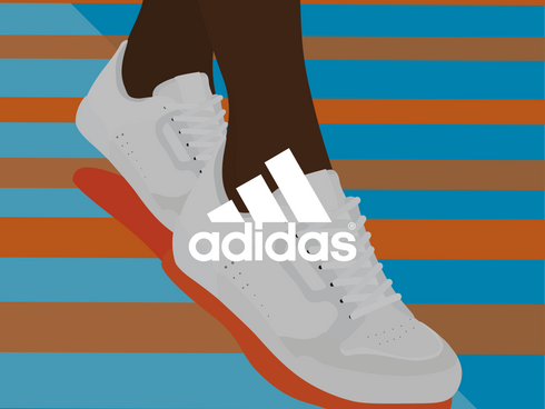 Adidas illustrations