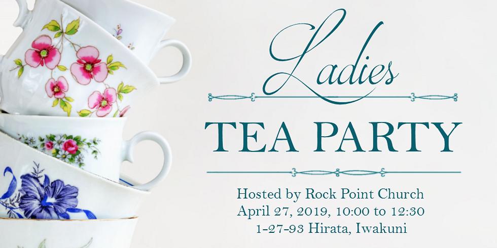 Ladies Tea Party and Bible Art Journaling