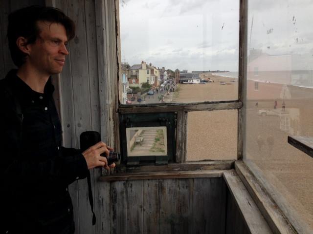 Poet-In-Residence Visits Aldeburgh