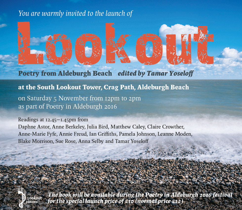Invitation to the launch of LOOKOUT