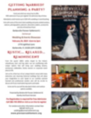Bridal Show Flyer & Events Showcase 2019