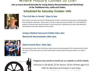 October 14th - Second Saturdays at the Settlement