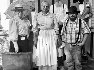 Living History Demonstrators will be on the grounds every Saturday now through  March!