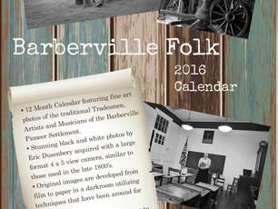 Barberville Folk - 2016 Calendars