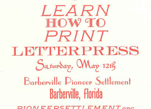 Penland Resident Artist to Teach this Saturday -  How to Print Letterpress