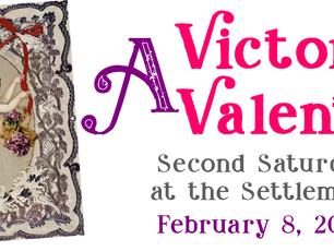 Love is in the Air and History is ALIVE! Join us on February 8th for Second Saturday