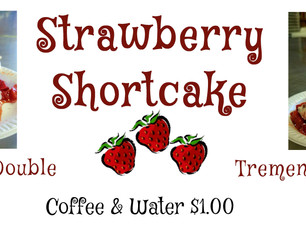 Don't miss out! Strawberry Shortcake at Barberville March 17 & 18