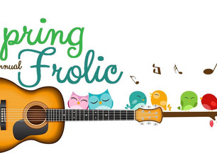 Save the Date! Spring Frolic - April 10th & 11th