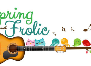 Ten days and counting... to the 15th Annual Spring Frolic! Tentative Music Schedules are available.