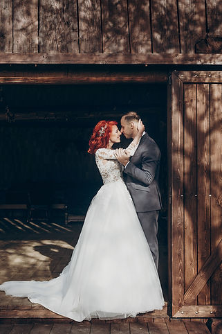bigstock-Rustic-Wedding-Couple-Posing-A-