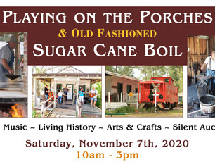 Sugar Cane Boil & Playing on the Porches,