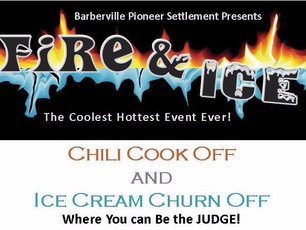 Chili Cook Off and Ice Cream Churn Off FIRE & ICE - Winners & Sponsors