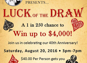 Get your tickets NOW before it's too late! Don't miss out on your chance to win BIG $$!