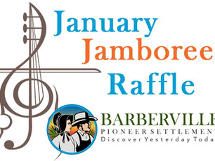 Enter to WIN! January Jamboree RAFFLE