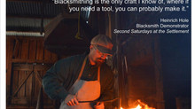 Blacksmithing Classes, We sell both Coal and Mild Steel Stock