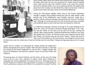 Summer 2018 Newsletter - The Butter Lady's Life & Legacy