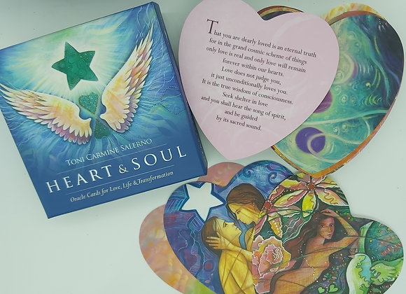 Heart & Soul Oracle Cards by Toni Carmine Salerno