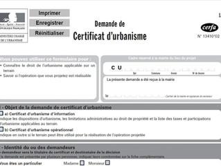 A quoi sert un Certificat d'Urbanisme?