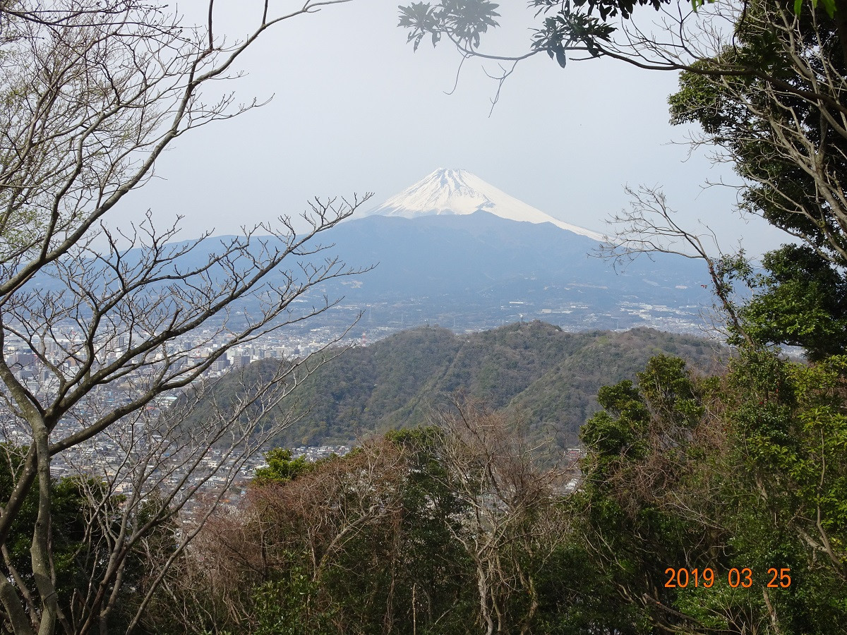 今日、一番の富士山