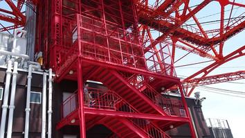 階段昇りスタート