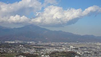 湘南平から大山方面