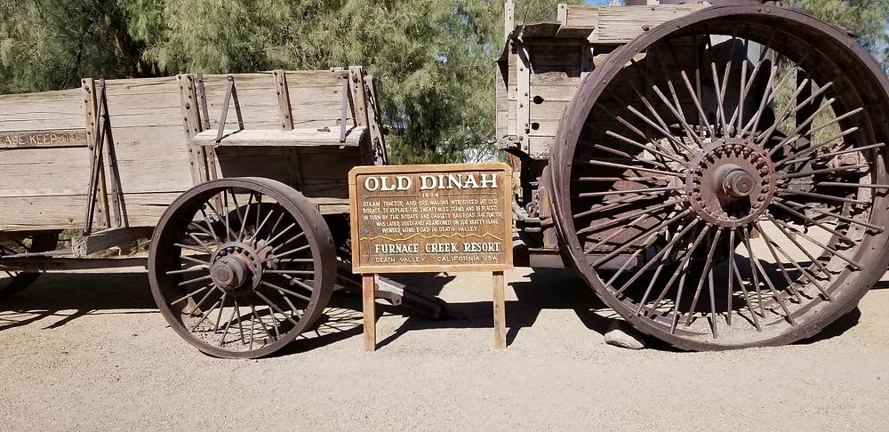 Old Dinah at the Borax Museum