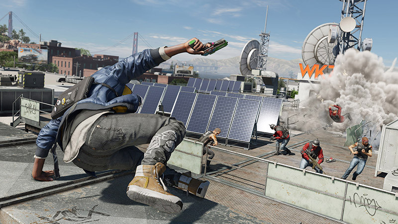 Watch Dogs 2 Solar Gaming