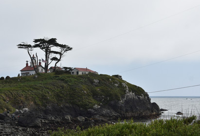 Battery Point Lighthouse in Crescent City, CA