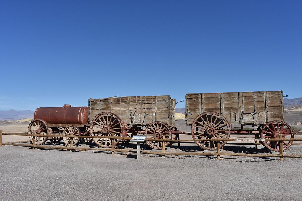 Harmony Borax Works Mule Train