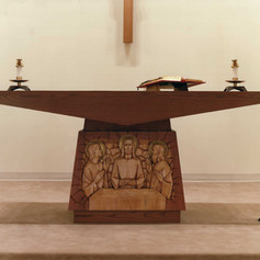 custom altar and sanctuary appointments.