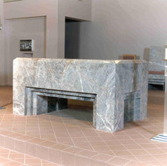 furnishings - alter appointments, metalw