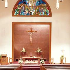 custom glass and altar and interior.jpg