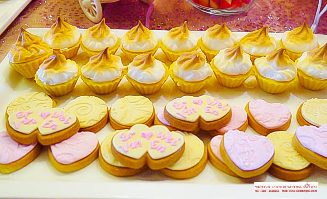 Wedding Cookies and Tartlets