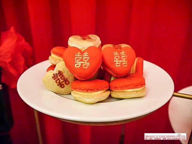 Double Happiness Macarons