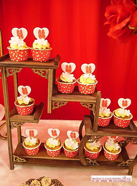 Chinese Oriental Cupcakes