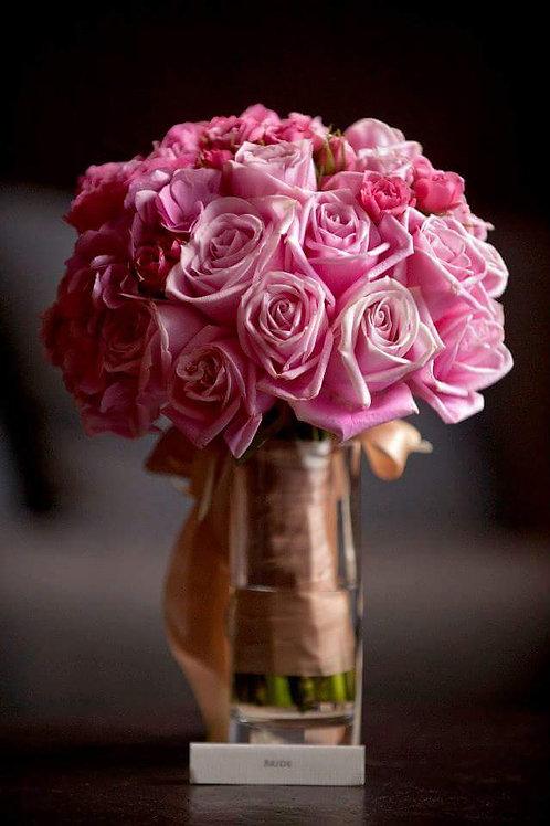 精美手捧花设计 Lovely Bridal Bouquet-A