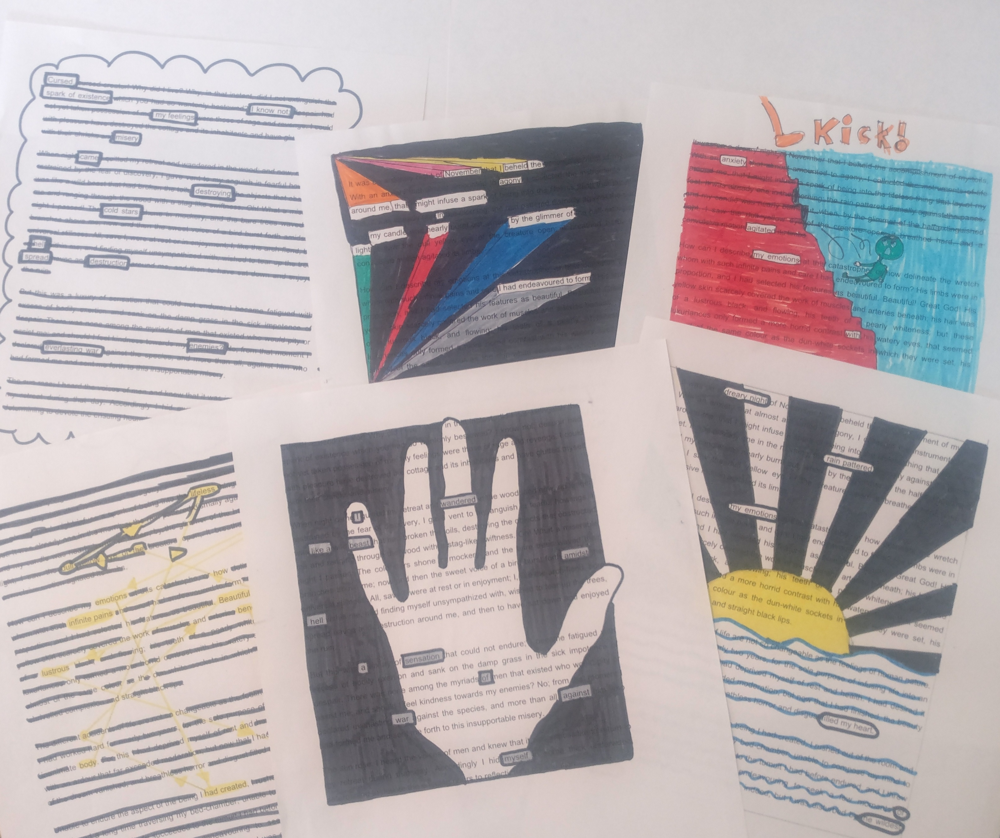 Poetry and Pedagogy: Helping Studies to 'Close Read' through Blackout Poetry