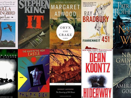 My Top 10 Books that I have Loved