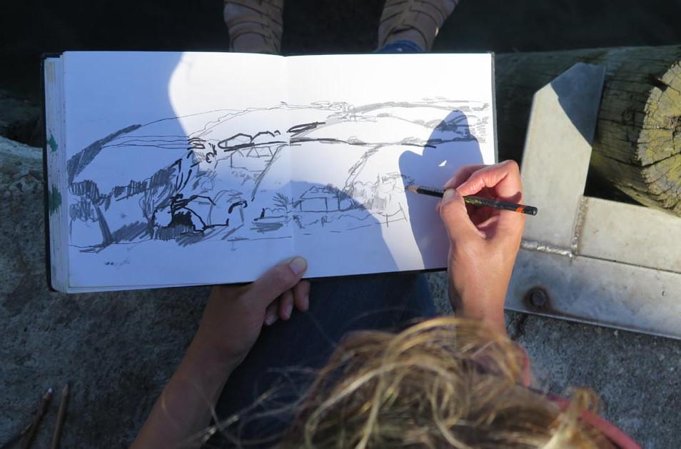 Elaine Jones Sketchbook