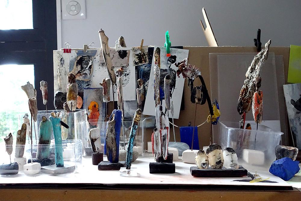 Small Sculptures Catherine Monmarson