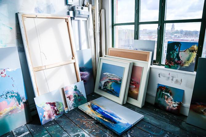 A Day in the Studio | Elaine Jones