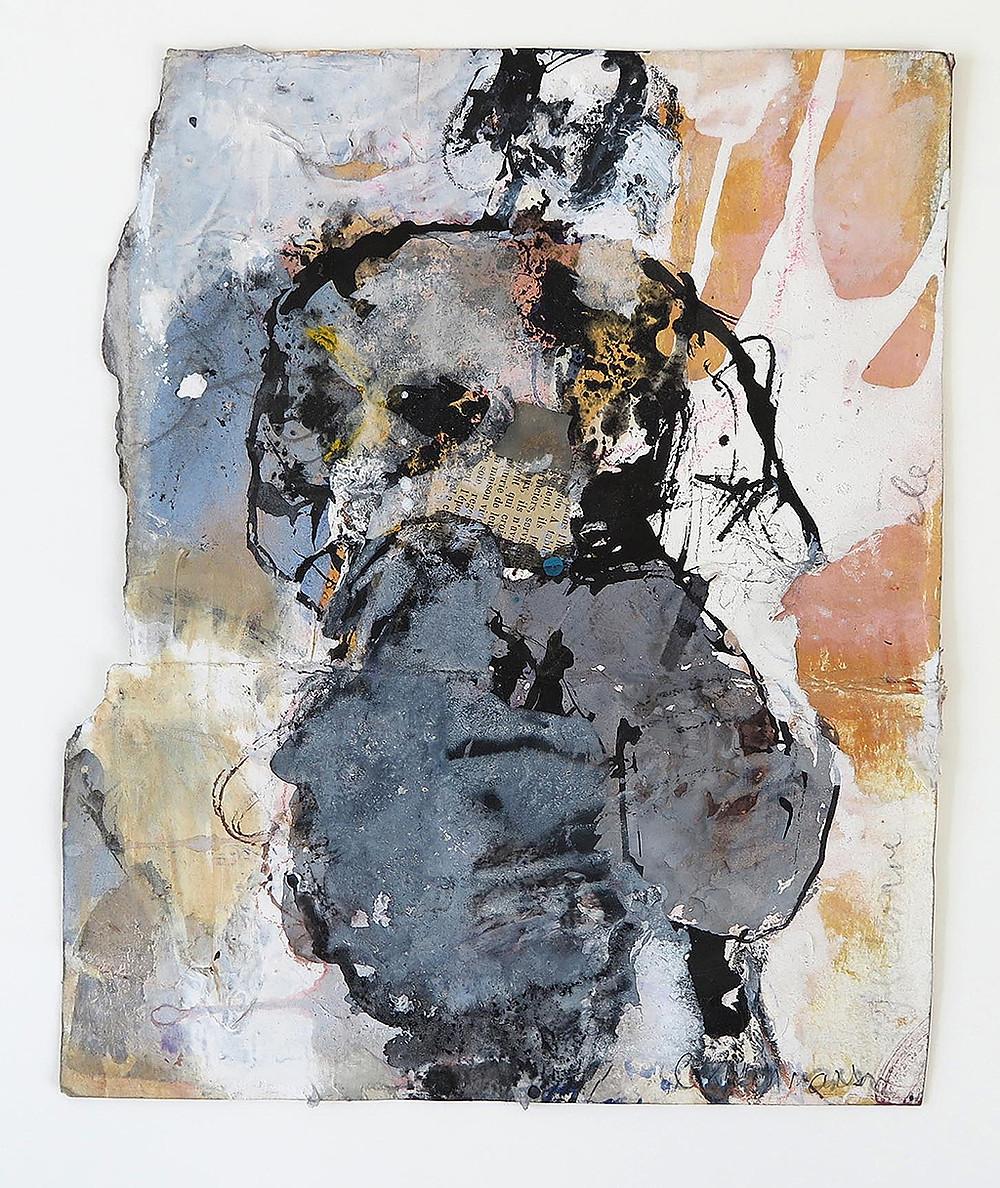 Figure Turned Catherine Monmarson